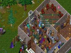 Les elfes de Tel'Mithrim tiennent un concours bardique à leur taverne, la Flèche d'Argent.